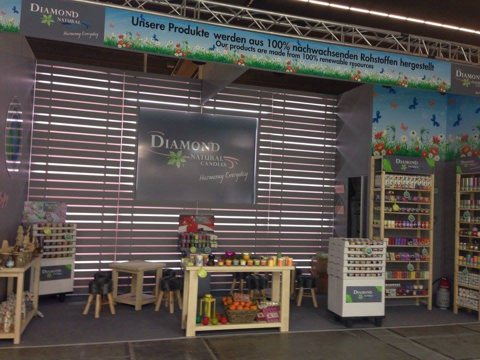 Diamond Candles Ambiente The Show Frankfurt 2015 1